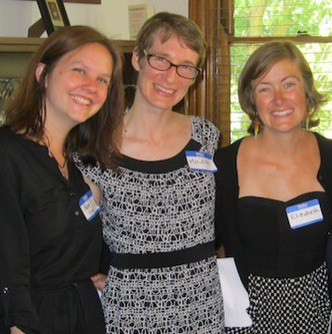 From left to right: Mary Ellen Mitchell Eilerman, Meridith Owensby, and Elizabeth Coyle