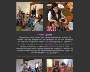 April 2016 e-news
